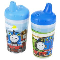 Thomas + Friends 2 Pack Insulated Sippy Cups