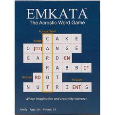 The Original Acrostic Word Game EMKATA - Walmart.com