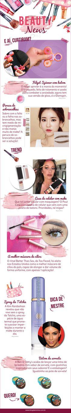 Beauty News agosto: as últimas tendências de moda - Blog da Mimis #infográfico #beleza #dicas #blogdamimis #beautynews #beauty #news