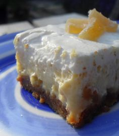 The English Kitchen: Ginger Cheesecake Squares