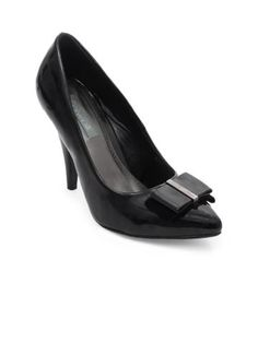 aae15b3135aa1 Catwalk Women Black Shoes | Myntra via @Myntra.com Black Pumps Heels, Black