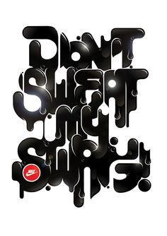 """NIKE. Collection 2011 """"Don´t Sweat my Swag""""."""