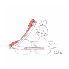 Cosplay Tumblr, Paint Icon, Cute Kawaii Drawings, Cute Chibi, Cute Little Girls, Character Drawing, Cartoon Wallpaper, Cute Illustration, Doodle Art