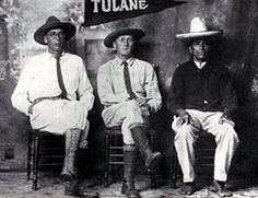 """Oliver La Farge, Frans Blom and their guide """"Tata"""" Lazaro Hernandez in Guatemala, 1925 In Tribes and Temples by Frans Blom and Oliver La Farge."""