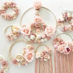 ♡ SWEET POOM ® ♡ (@sweet_poom_) • Fotografii şi clipuri video Instagram Wood Bead Garland, Beaded Garland, Girl Baby Shower Decorations, Baby Decor, Diy Dream Catcher Tutorial, Embroidery Hoop Crafts, Arts And Crafts, Diy Crafts, Frame Crafts