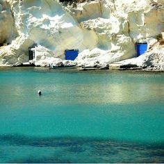 Swimming in Kimolos island-Greece