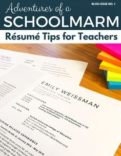 resume tips and tricks for new and experienced teachers - Resume Tips And Tricks