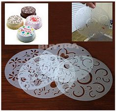 great way to decorate cakes. Cake Stencils