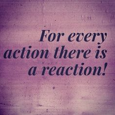 Image result for action and reaction christians must have