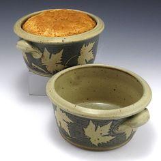 Stoneware Pottery Bread Baker