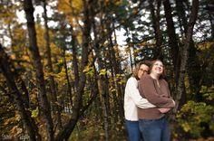 Lesbian embrace - Same-Sex Wedding Photography by Sara + Ryan