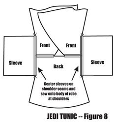 jedi costume diy - Google Search