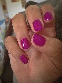 Gelish- You Glare I Glow. So in love with this color!