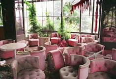 Pink decay - anbandoned hotel, Japan