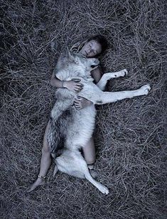I would love that to be real. It also reminds me of the film Lady Hawk her Love was a Wolf by night