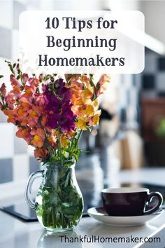 What I'm sharing with you today are tips that my grandmother and other family members shared with me or modeled for me when I was a young bride. Christian Homemaking, Marriage Help, Home Management, Homekeeping, Organization Hacks, Clean House, Cleaning Hacks, Frugal, Things To Come