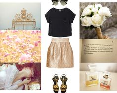 """""""Gold!"""" by emc1397 ❤ liked on Polyvore"""