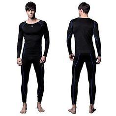 FX Mens MAXHEAT Soft Fleece Long Johns Thermal Underwear Set Black S