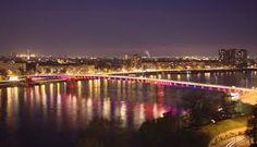 Novi Sad, Danube river.