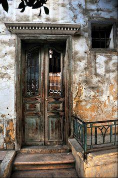 Old Door in Achrafieh. Beirut. Lebanon. By Mohannad Khatib