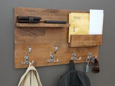 entryway organizer moder coat rack modern furniture mail and key holder wood