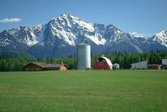 My place of birth and hometown...Palmer, Alaska