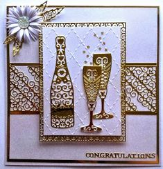 Kuvahaun tulos haulle cards made with tattered lace dies Wedding Cards Handmade, Handmade Birthday Cards, Greeting Cards Handmade, Handmade Engagement Cards, Happy Anniversary Cards, 21st Birthday Cards, Tattered Lace Cards, Quilling Cards, Marianne Design