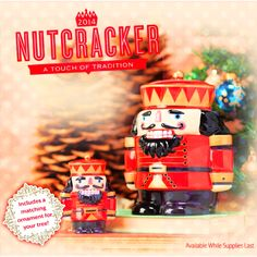 Nutcracker Scentsy Warmer in the new 2014 Winter Catalog!