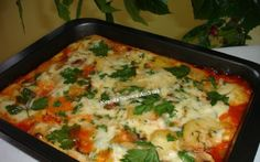 Musaca cu carne si ciuperci Romanian Food, Lasagna, Food And Drink, Potatoes, Cooking Recipes, Chicken, Meat, Vegetables, Ethnic Recipes