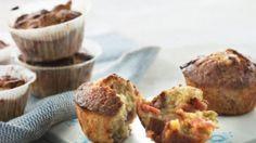 Muffins med rabarber, appelsin og hvid chokolade   Femina