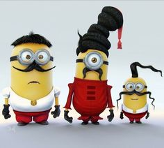 Russian Cossacks family Minions