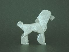 Poodle origami