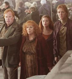 The Weasley Family - Deathly Hallows