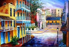 French Quarter Sunrise ~ Diane Millsap