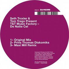 Seth Troxler, Tom Trago, T&T Music Factory - De Natte Cel / K7 Records / K7324EP1D - http://www.electrobuzz.fm/2016/05/05/seth-troxler-tom-trago-tt-music-factory-de-natte-cel-k7-records-k7324ep1d/