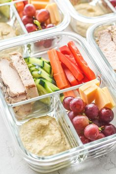 Cold Lunches, Make Ahead Lunches, Prepped Lunches, Clean Lunches, Clean Dinners, Healthy Recipes, Healthy Drinks, Lunch Recipes, Healthy Snacks