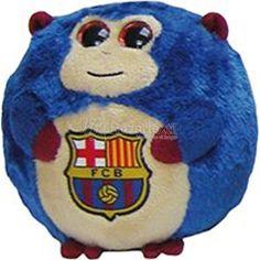 Peluche Futbol Club Barcelona Monkey - Bazartextil.com