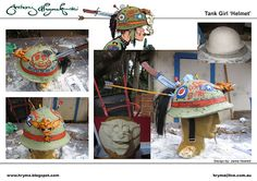 Tank Girl Cosplay, Gorgeous Nails, Halloween Costumes, My Style, Projects, Fun, Cosplay Ideas, Helmet, Detail