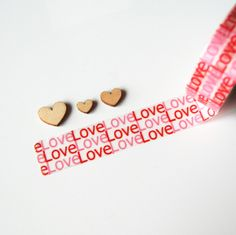 Washi   LOVE via Freckled Fawn