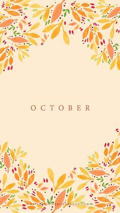 October Wallpaper