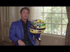 Sylvester Stallone about helmet Ayrton Senna