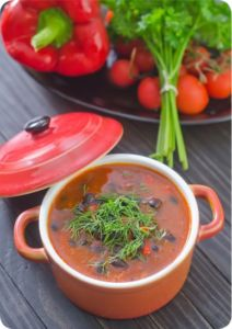 Alkaline Diet Recipe: Adzuki Bean Chipotle Soup - All For Health Soup Recipes, Whole Food Recipes, Healthy Recipes, Healthy Soups, Easy Recipes, Healthy Food, Healthy Eating, Chipotle Soup Recipe, Azuki Bean Recipes