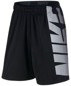 Nike Men's Dry Logo Training Shorts - Black 2XL