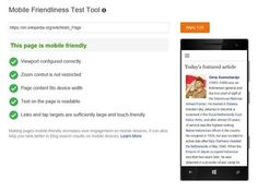 """More and more traffic to websites are generated by visits from smartphone and tablet users, and many of those sites don't have features that are specific for those visitors. Now Microsoft's Bing division wants to help web designers make their sites """"mobile friendly"""" by releasing a tool to test to see if the site passes several criteria to see if it is indeed """"mobile friendly"""". The..."""