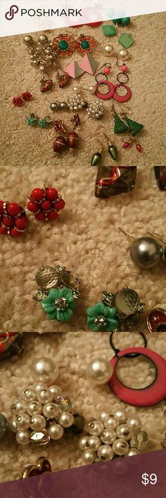 BOGO - 18+ Vintage Earrings Buy One Item and Get ONE Item FREE. FREE items same value or LESS  Very Simple....  BUNDLE BOTH ITEMS AND OFFER ME THE PRICE OF THE MOST EXPENSIVE....  Excludes Mannequins.... Jewelry Earrings