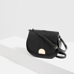 MESSENGER BAG WITH METAL FASTENING-View all-BAGS-Woman-COLLECTION SS16   ZARA United States