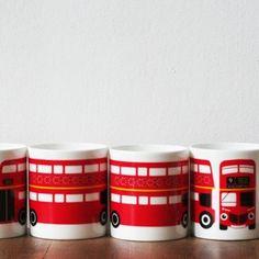 our shop - london bus mug