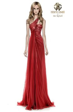 Bar Refaeli`s Roberto Cavalli Gowns & Illustrations at Sanremo Festival 2013