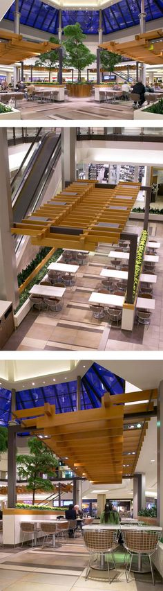 Food Court at Fairview Mall in Toronto, ON - designed by GH+A