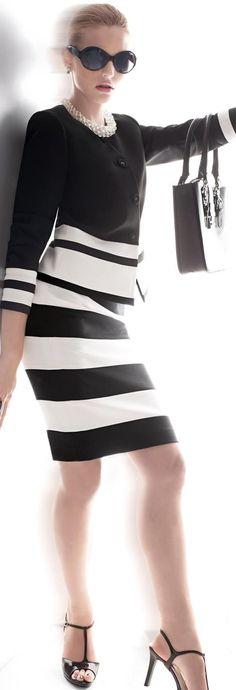 Madeleine - Classic black & white